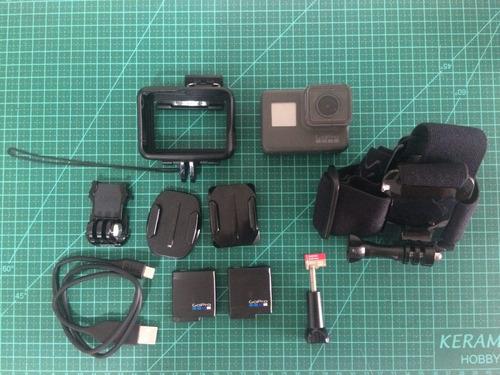 camera gopro hero 5 black+bateria extra+cartão