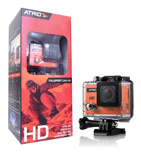 camera hd fullsport dc186 + capacete urban bi060 atrio
