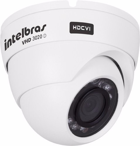 camera infra intelbras hdcvi 720p 20ir hd vhd 3020d 2.8mm