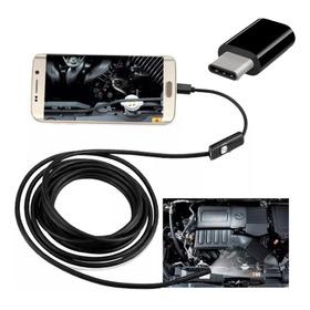 Camera Inspeção Sonda Endoscópica Android + Adaptador Tipo C