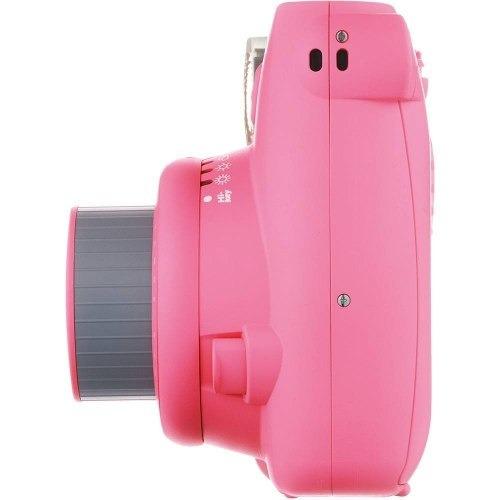 camera instax mini 9 instantanea pink rosa flamingo fujifilm