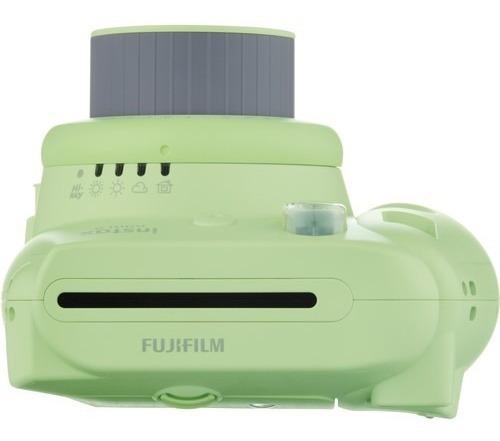 camera  instax mini 9 instantanea verde lima fujifilm