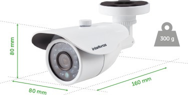 camera intelbras 2.8 mm 20 mt vm 3120 ir 3 geracao