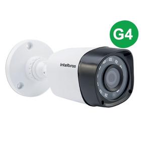 Câmera Intelbras Bullet Vhd 1220b G4 3,6mm 20m 1080p Full