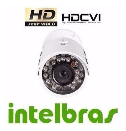 camera intelbras hdcvi 720p 30ir hd vhd 3030 b 3.6mm ou 6mm