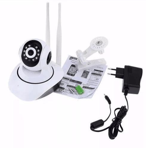camera ip 1.3 mp noturna wireless alta resolução hd 720 p2p
