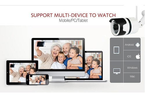 camera ip externa ip66 à prova d'agua wifi yoosee 1080p 4813