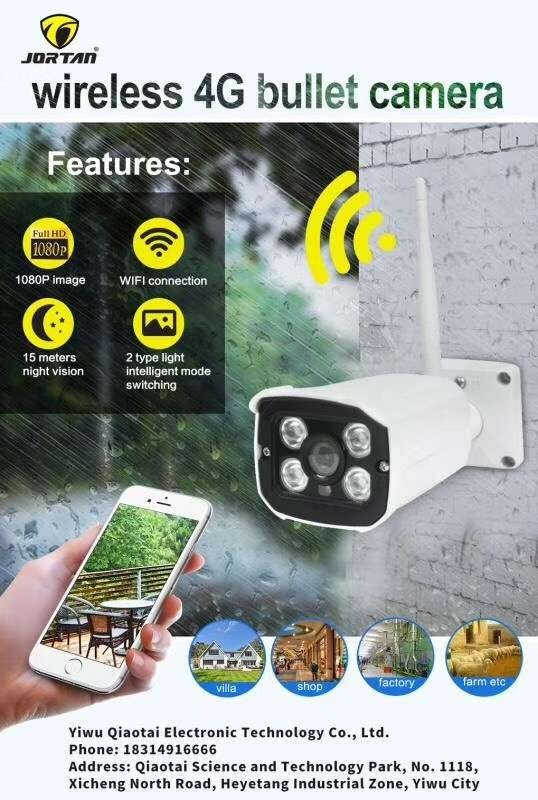 Camera Ip Externa Wifi Wirelless Jortan Android Ios -82047wk - R ...