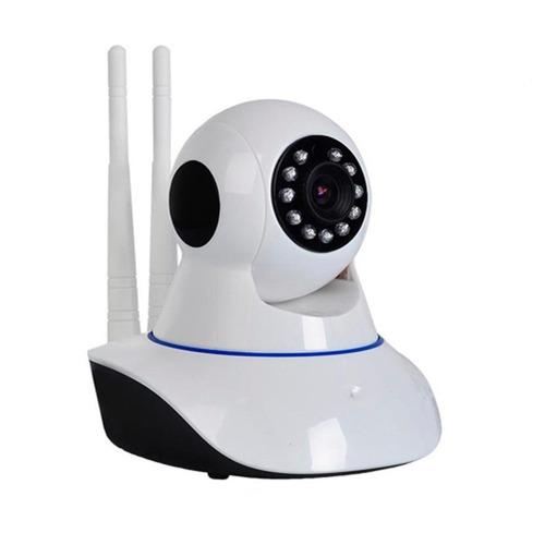 camera ip hd 720 noturna wireless wifi loja casa cartão sd