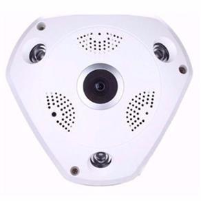 camera ip hd panoramica 360 wifi lente olho de peixe