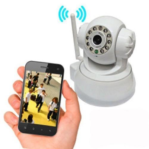 camera ip hd wireless seguranca visão noturna via internete