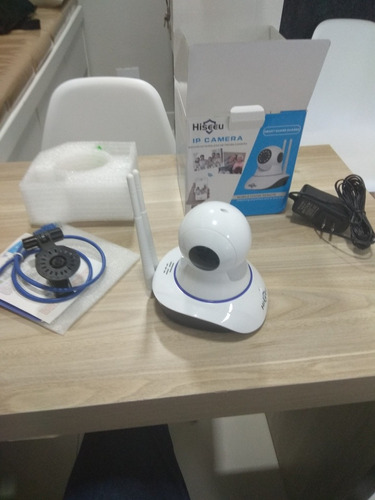 camera ip hisseu babá eletrotônica, câmera de segurança.