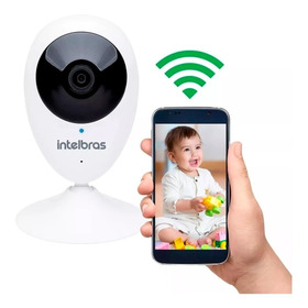 Câmera Ip Intelbras Ic3 Sem Fio Wifi C/ Microfone Oferta Bh
