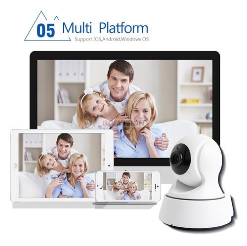 camera ip segurança visão noturna  wifi sem fio 720hd