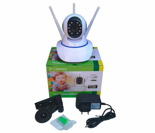 camera ip wifi 3 antenas hd 720p app yoosee/yyp2p noturna
