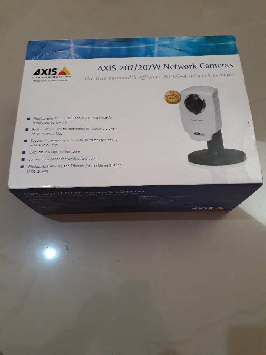 AXIS 207W NETWORK CAMERA DRIVER DOWNLOAD FREE