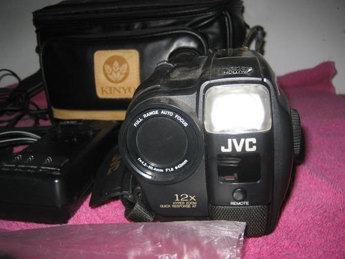 camera jvc grax700 vhsc completa, com todos acessórios linda