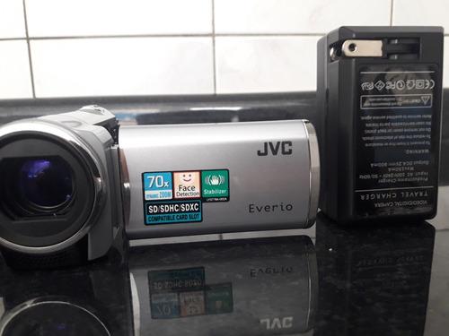 camera jvc hd completa