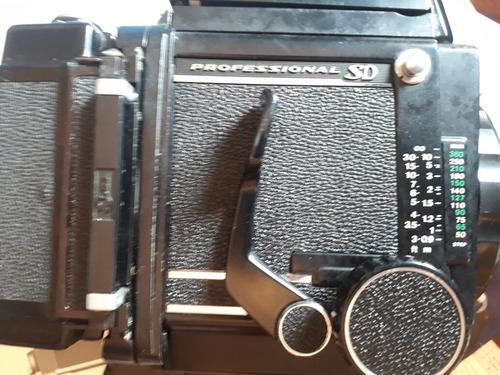 camera mamyia rb67 + lente 150mm + acessórios