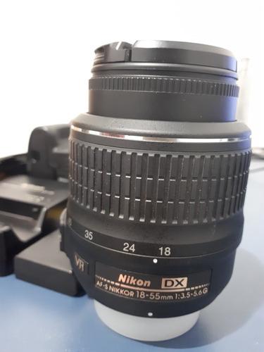 camera nikon d3200 usada semi nova