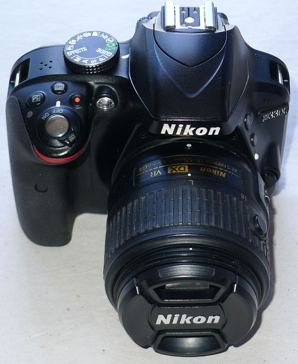 Camera Nikon D3300 18 55mm Dx Vr Ii Em Estado De Nova R 149500 Kit Carregando Zoom
