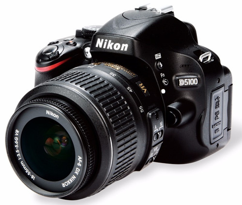 camera nikon d5100+lente 18-55mm full hd