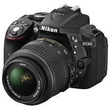 camera nikon d5300 kit 18-55mm+32gb+bolsa+minitripe c/ nf