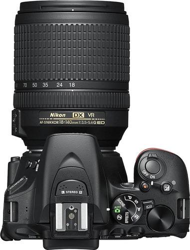 camera nikon d5600 dslr  with af-s dx nikkor 18-140mm