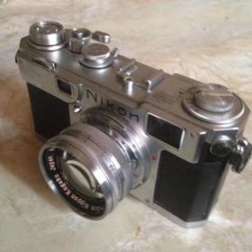 Câmera Nikon Rangefinder S2, 1952, Impecável!