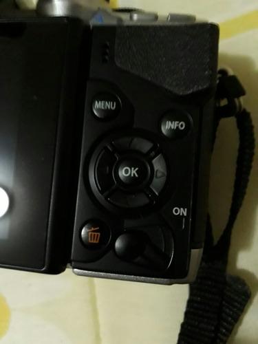 camera olympus om-d em10 + lente 17mm 2.8 12x s/ juros!