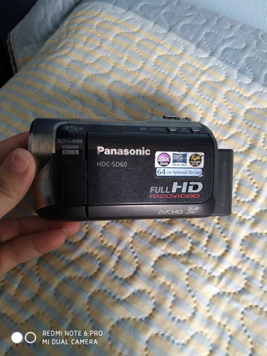 camera panasonic hdc-sd60 full hd
