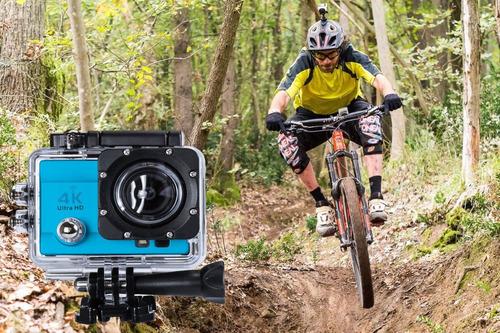 camera para capacete 4k hd motorsports hero trilha bicicleta