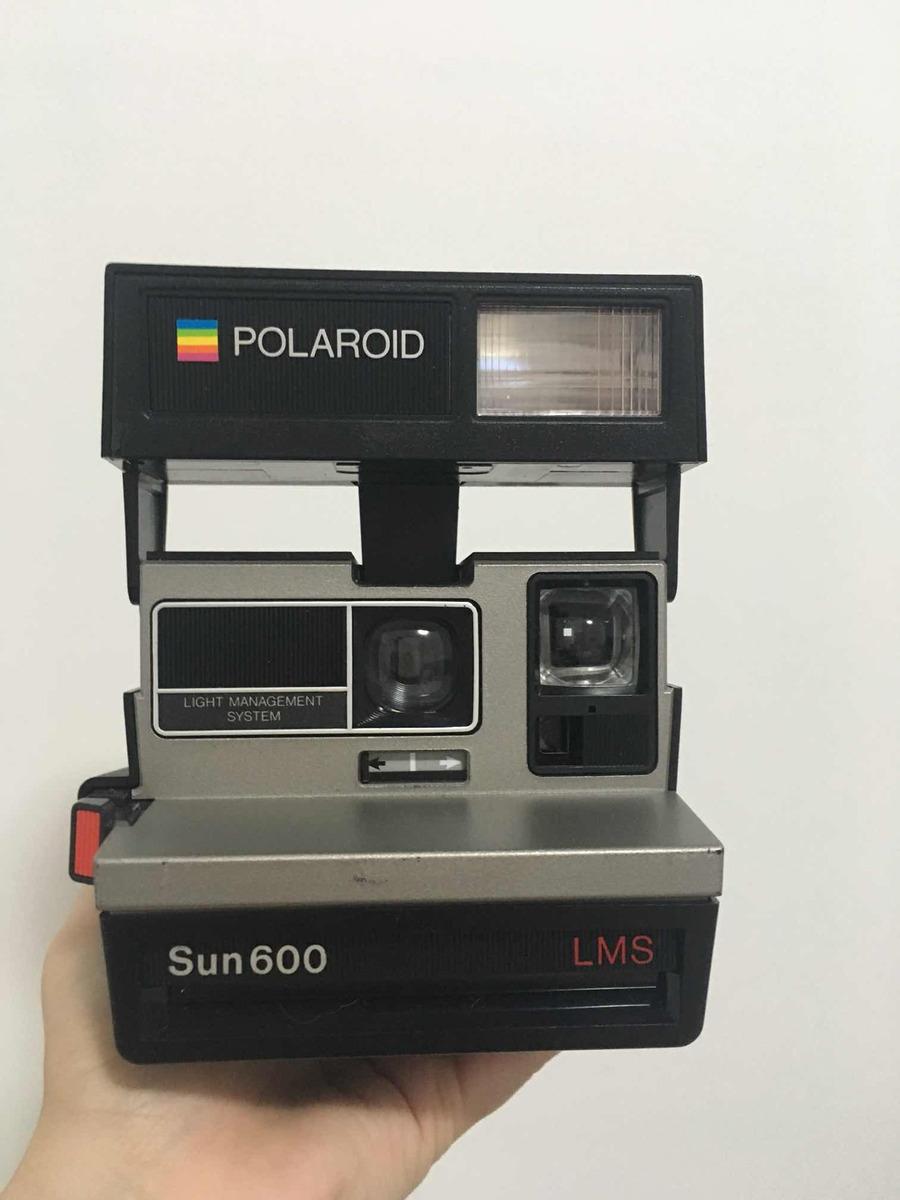 79619d79573e9 camera polaroid sun 600 vintage. Carregando zoom.