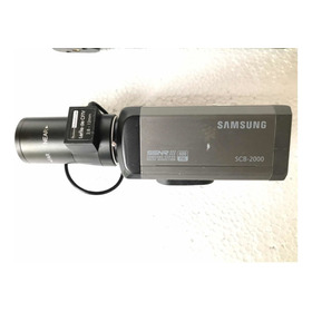 Câmera Profissional Color Samsung Scb-2000 C/lente 2.8-12mm