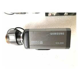 Câmera Profissional Color Samsung Scb-2000 C/lente 3.5-8mm