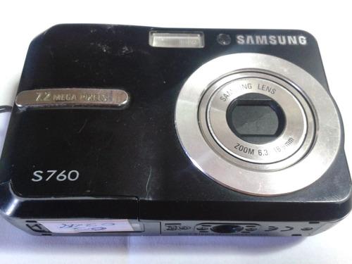 camera samsung s760 com bloco óptico danificado
