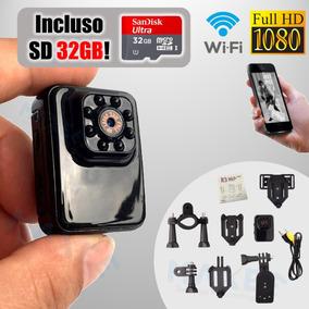 b5008d4cd Mini Spy Cam Wifi Ip - Eletrônicos, Áudio e Vídeo no Mercado Livre ...
