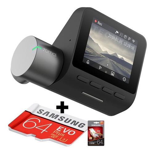camera segurança filmadora veicular xiaomi pro + cartão 64gb