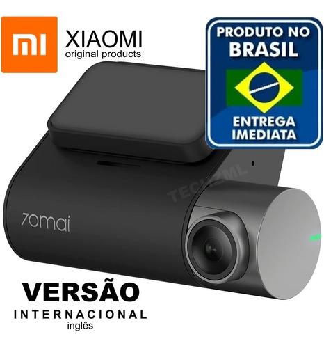 camera segurança filmadora veicular xiaomi pro + gps + cabo