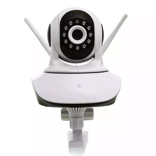 camera segurança ip s/fio wireless visão noturna audio 1,