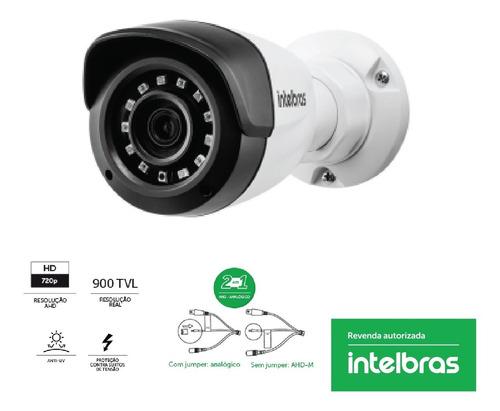camera segurança vmh 1120b 2,6mm intelbras - super analogica