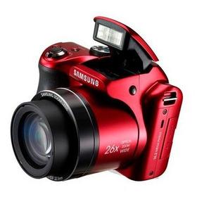 Câmera Semi Profissional Samsung Wb100 Semi Novo Vermelha