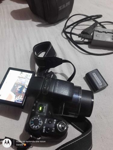 camera semi profissional sony cyber shot