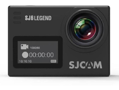 camera sjcam sj6 legend original 4k wifi 16mp touch screen