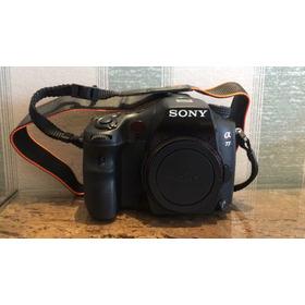 Câmera Sony A77 Excelente Estado Único Dono Somente Corpo