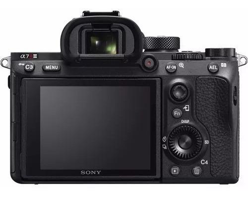camera sony a7r iii a7riii mirrorless digital pronta entrega