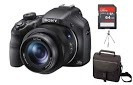 camera sony hx400  zoom 50x wi-fi  +64gb c/10+capa+tripe