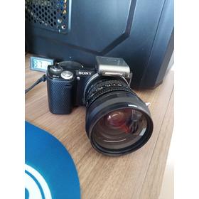 Câmera Sony Nex 5n Corpo + Flash + Para-sol Lcd