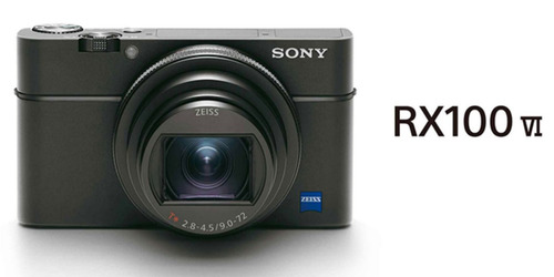 camera sony rx100 iv m6 4k lente 24-200mm.