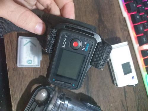 camera sony x1000 hd filma em 4k fdr-x1000v